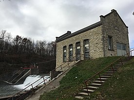 Mitchell Powerhouse and Dam NRHP 78001246 Mitchell County, IA.jpg