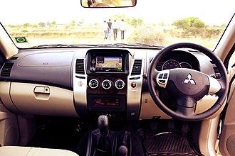 Mitsubishi Challenger - Interior