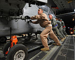 Mobility Airman profile, C-17 loadmaster, deployed from Joint Base Charleston, supports combat airlift from Southwest Asia base DVIDS363278.jpg