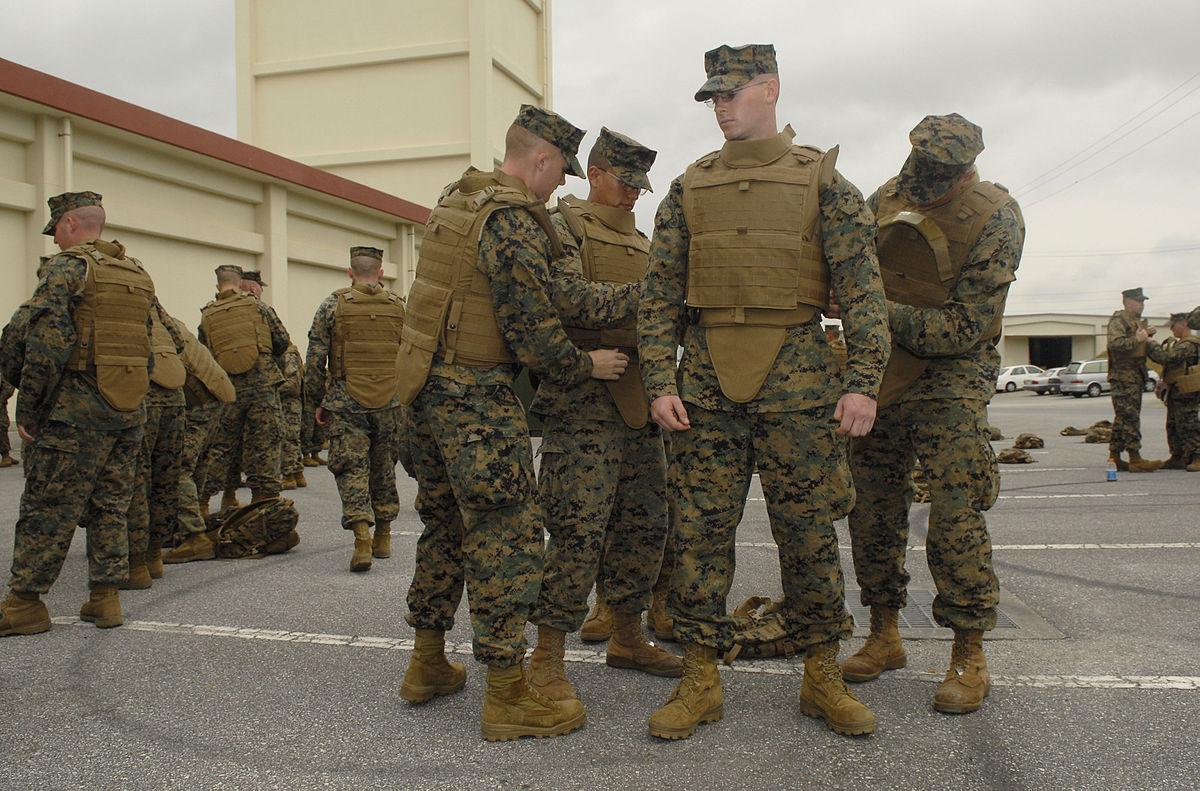 �ล�าร���หารู�ภา�สำหรั� Navy newest body armor