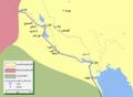 Mohammad adil rais-Khalid's conquest of Iraq-ar.png