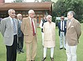 Mohd. Hamid Ansari along with the Governor of Jammu and Kashmir, Shri N. N. Vohra and the Chief Minister of Jammu and Kashmir, Shri Omar Abdullah, during his visit to Dachigam National Park, in Srinagar on September 16, 2012.jpg
