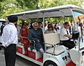 Mohd. Hamid Ansari and Smt. Salma Ansari, visits the Forbidden Palace Garden, in Beijing, China. The Minister of State for Commerce & Industry (Independent Charge), Finance and Corporate Affairs.jpg