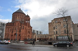 Monastery complex of Armenian Apostolic Church in Moscow.JPG