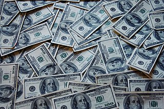A picture of money