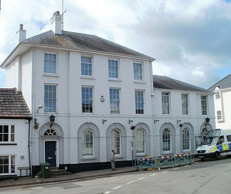 Glendower Street, Monmouth - Image: Monmouth Police Station
