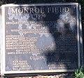 Monroe field plaque.jpg