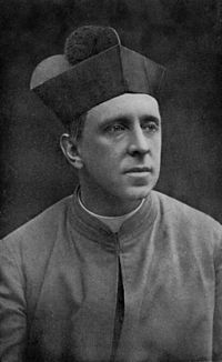 Monsignor R. H. Benson in Oct. 1912, Aged 40