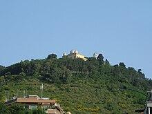 Monte Mario, sede di una delle stazioni meteorologiche di Roma