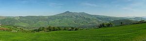 Aglianico - Mount Vulture, panoramic view.