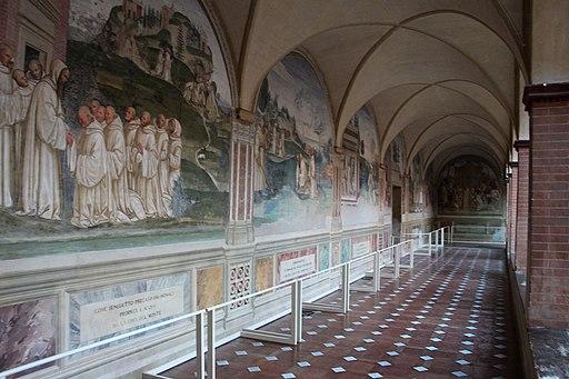 Monte Oliveto Maggiore, Chiostro Grande