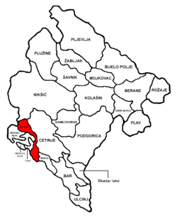 Kotor Municipality in مونٹینیگرو