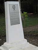 Monument near Bongu Village, PNG