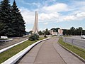 Monument to Soviet soldiers-liberators in Kamianske.jpg
