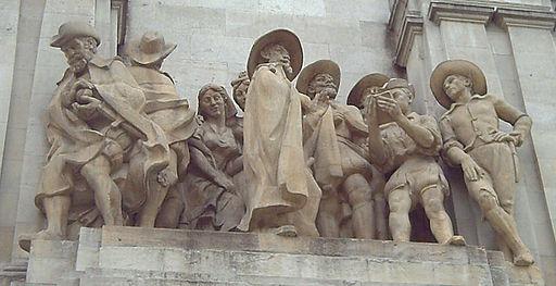 Monumento a Cervantes (Madrid) 07