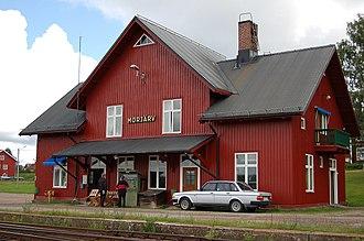 Morjärv - Morjärv railway station