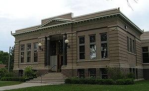 Stevens County, Minnesota - Image: Morris Carnegie Library