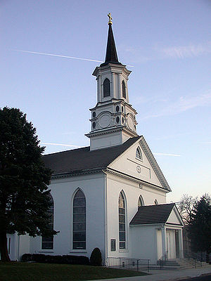 Bally, Pennsylvania - Most Blessed Sacrament Church