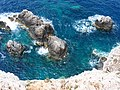 Most south and west point of Lefkada island, near Apollo temple, pic1.JPG