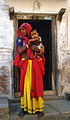 Mother and child in Bundi, Rajasthan.JPG