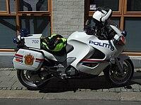 Motorcycle of Police in Bergen.JPG