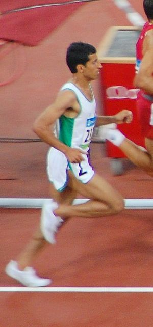 Mukhlid Al-Otaibi - Al-Otaibi at the 2008 Summer Olympics