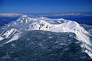 Mount Tengu from Mount Io 1995-3-13.jpg