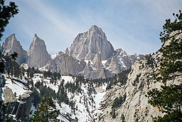 Mount Whitney i mars 2003.