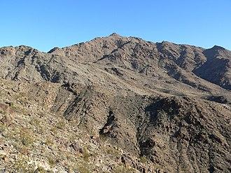 Mount Wilson (Arizona) - Mount Wilson in December 2006