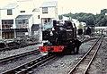 Mountaineer Ffestiniog Rly Porthmadog station 30-05-76 (33739030963).jpg