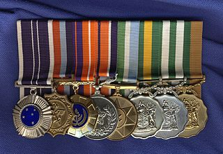 South African military decorations order of wear