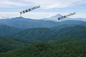 Mt.Fuji from Mt.Kasatori 01-2.jpg