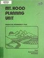 Mt. Hood planning unit - proposed interagency plan - final environmental statement (IA mthoodplanningun13unit).pdf