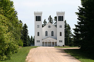 Muenster, Saskatchewan - St. Peter's Cathedral