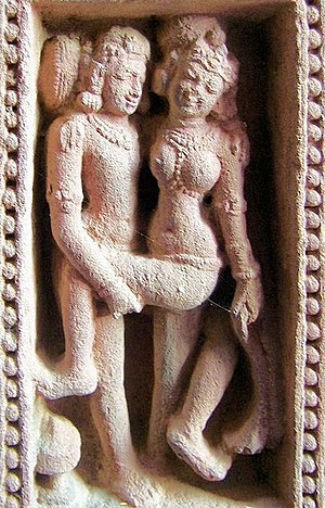 Arts of Odisha - Erotic sculpture in Mukteswar Temple