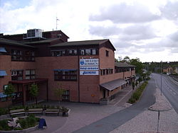 Central Mullsjö in May 2007