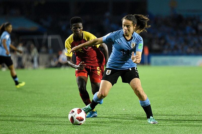 Partido inaugural del Mundial Sub17 Femenino 2018, Uruguay-Ghana (Foto: Sala de Medios de la Intendencia de Montevideo)