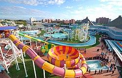 Munsu Water Park - Pyongyang, North Korea (11511854045).jpg
