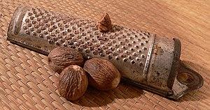 A nutmeg grater
