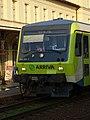 Nádraží Praha-Vršovice, vlak Arriva, čelo.jpg