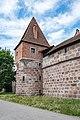 Nürnberg, Stadtbefestigung, Frauentormauer, Mauerturm Rotes N 20170616 002.jpg