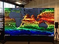 NASA's Hyperwall Shows the Sea Surface Temperature (10946045463).jpg