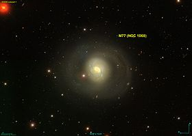 Image illustrative de l'article M77 (galaxie spirale)