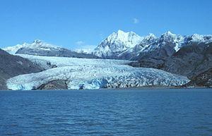 Riggs Glacier - Riggs Glacier in 1992