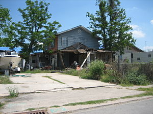 Eastern New Orleans half a year after Hurrican...