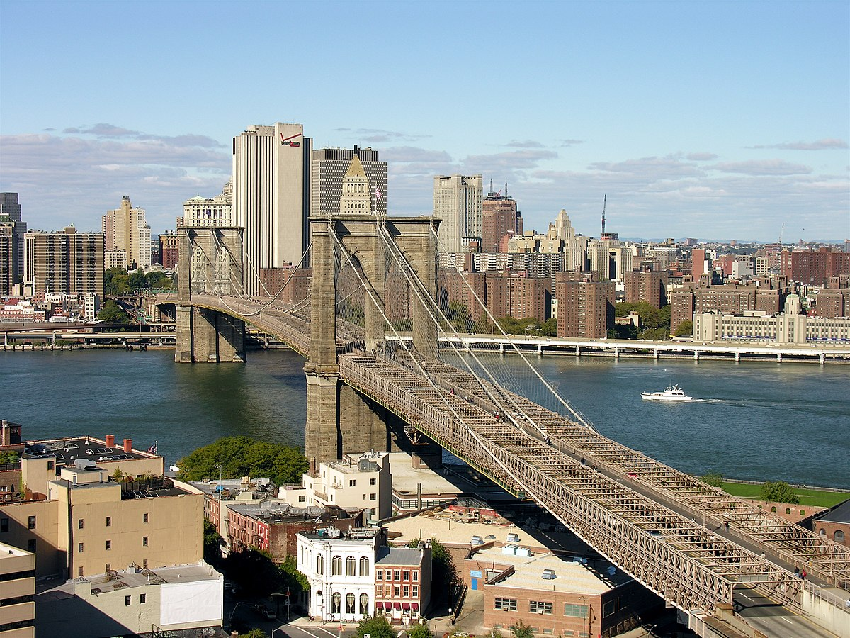Puente de Brooklyn - Wikipedia, la enciclopedia libre