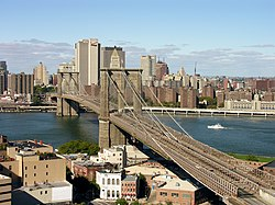 Brooklyn Bridge - Attractions/Entertainment - Brooklyn Bridge, New York, NY, USA