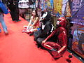 NYCC 2014 tired cosplayers (15500648522).jpg