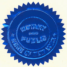 An Embossed Notary Seal This Type Of Is No Longer Legally Sufficient In New York State