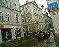 Na rogu ulic Zamkowej i Drukarskiej w Kluczborku - panoramio.jpg